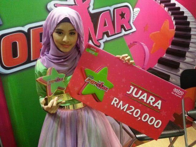 Masya, Anak Didik Hazama Juara Ceria Popstar 2