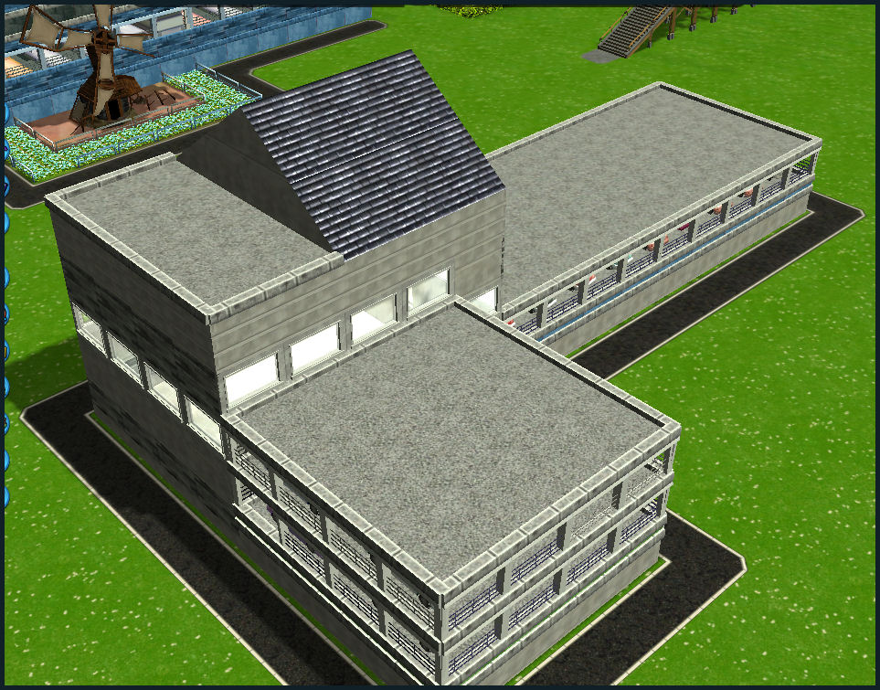 Roller Coaster Tycoon 3 Downloads Rct3 L Shape Garage
