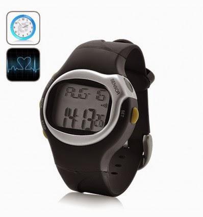 Reloj Cronómetro y Contador de Calorías