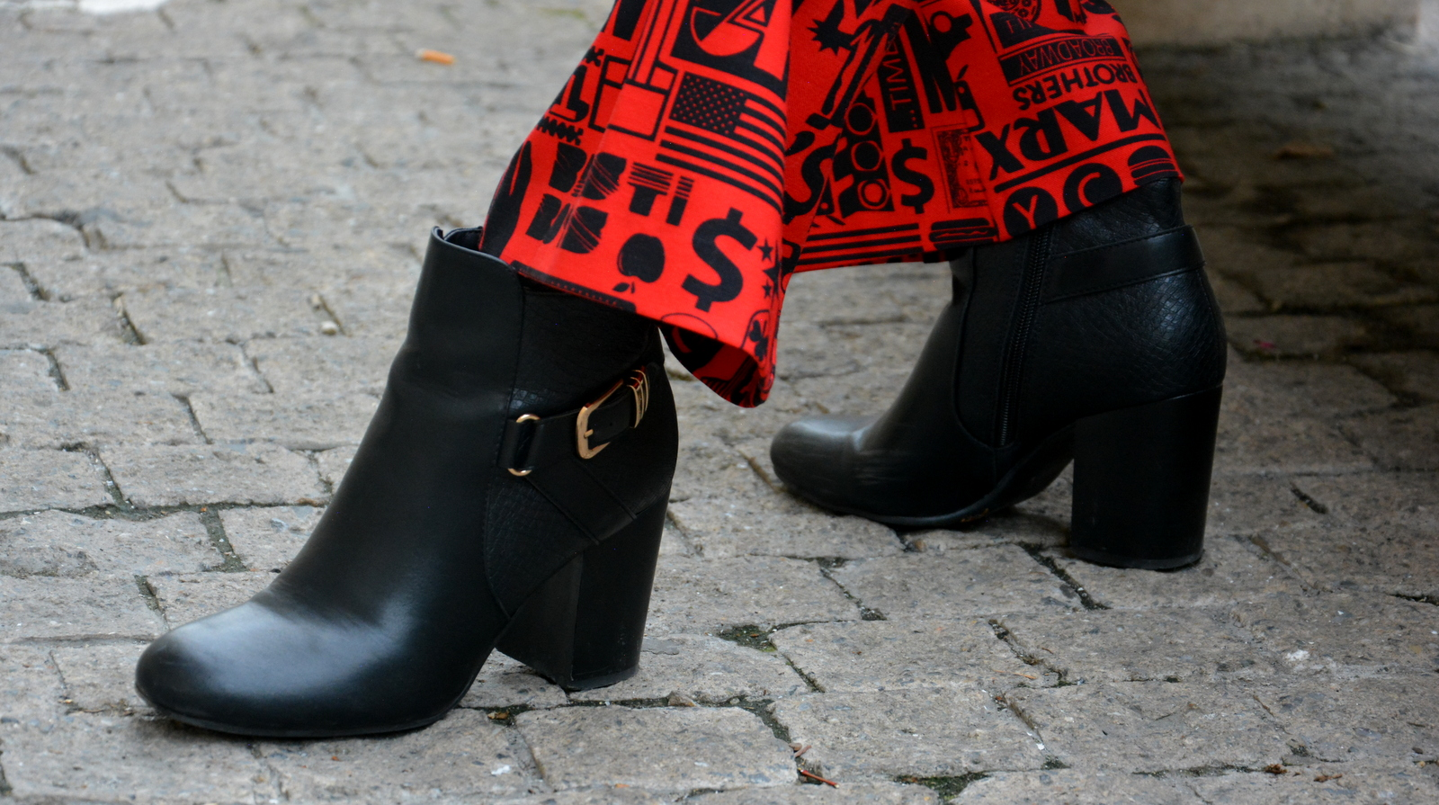 deichmann, ultrachic milano, Juliane Borges, ootd, outfit, dare, red, Flare Pants, modern, culture and trend