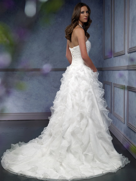 Top Fashion For All: Mia Solano Wedding Dresses 2012