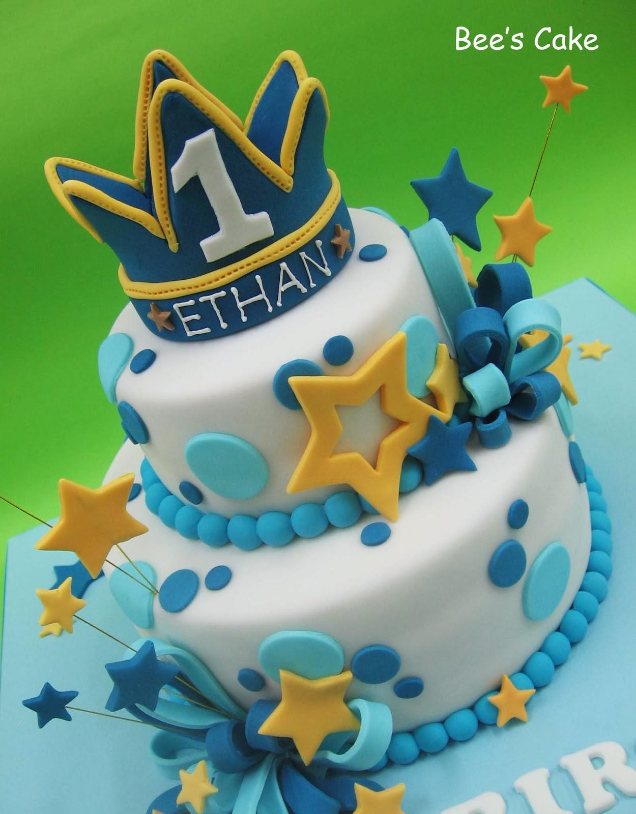 Bees Cake Prince Ethans 1st Birthday