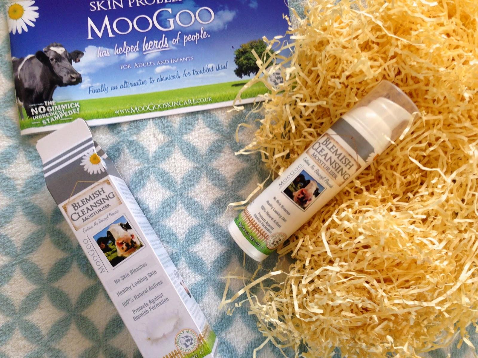 MooGoo Natural Chemical Free Blemish Cleansing Moisturiser Review