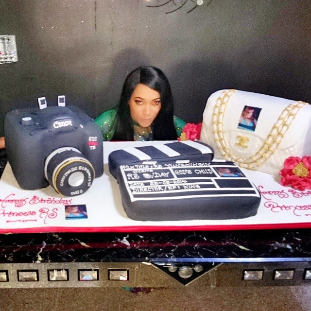 camera chanel bag birthday cake