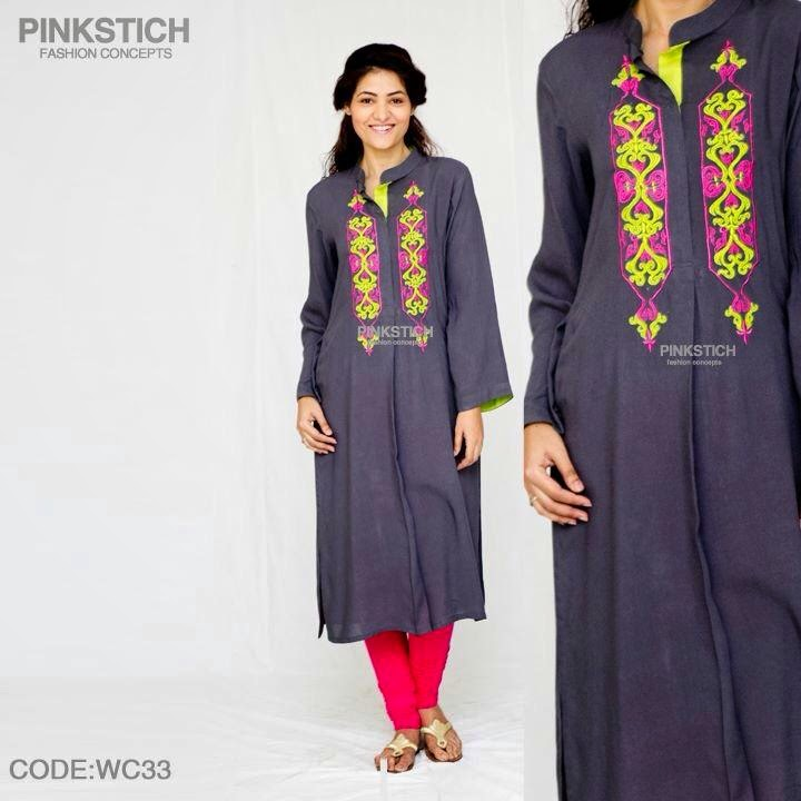 Winter kurti collection for smart girls