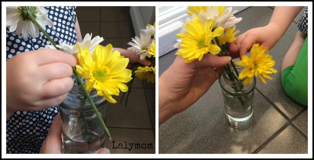 Easy Fine Motor Activities Using Fresh Flowers Fine Motor