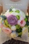 Silk Flower|Bridal Bouquet|Garden Girly Theme