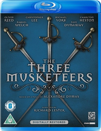 Poster Of The Three Musketeers 1973 Dual Audio 720p BRRip [Hindi - English] Free Download Watch Online