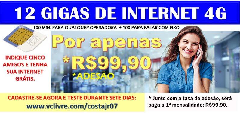 INDIQUE 5 AMIGOS E TENHA 12 GB DE INTERNET GRÁTIS POR MÊS