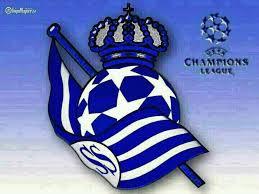Escudo tuneado Champions de la Real Sociedad