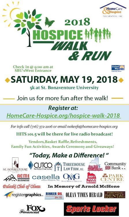 5-19 Hospice Walk & Run