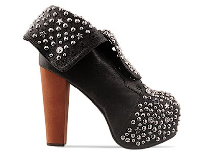 Jeffrey Campbell Lita Stud in black / silver