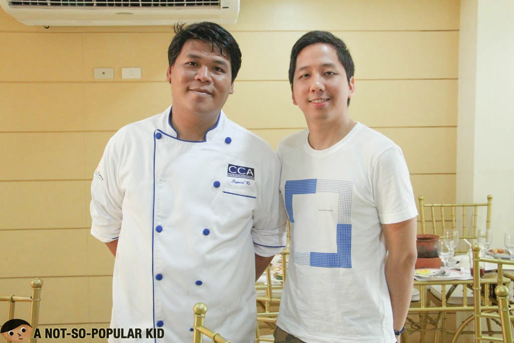 Raymond Ko, the chef behind Metro Vigan Cafe