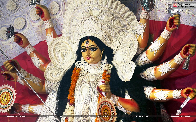 HD Durga Maa Wallpapers - WallpaperSafari