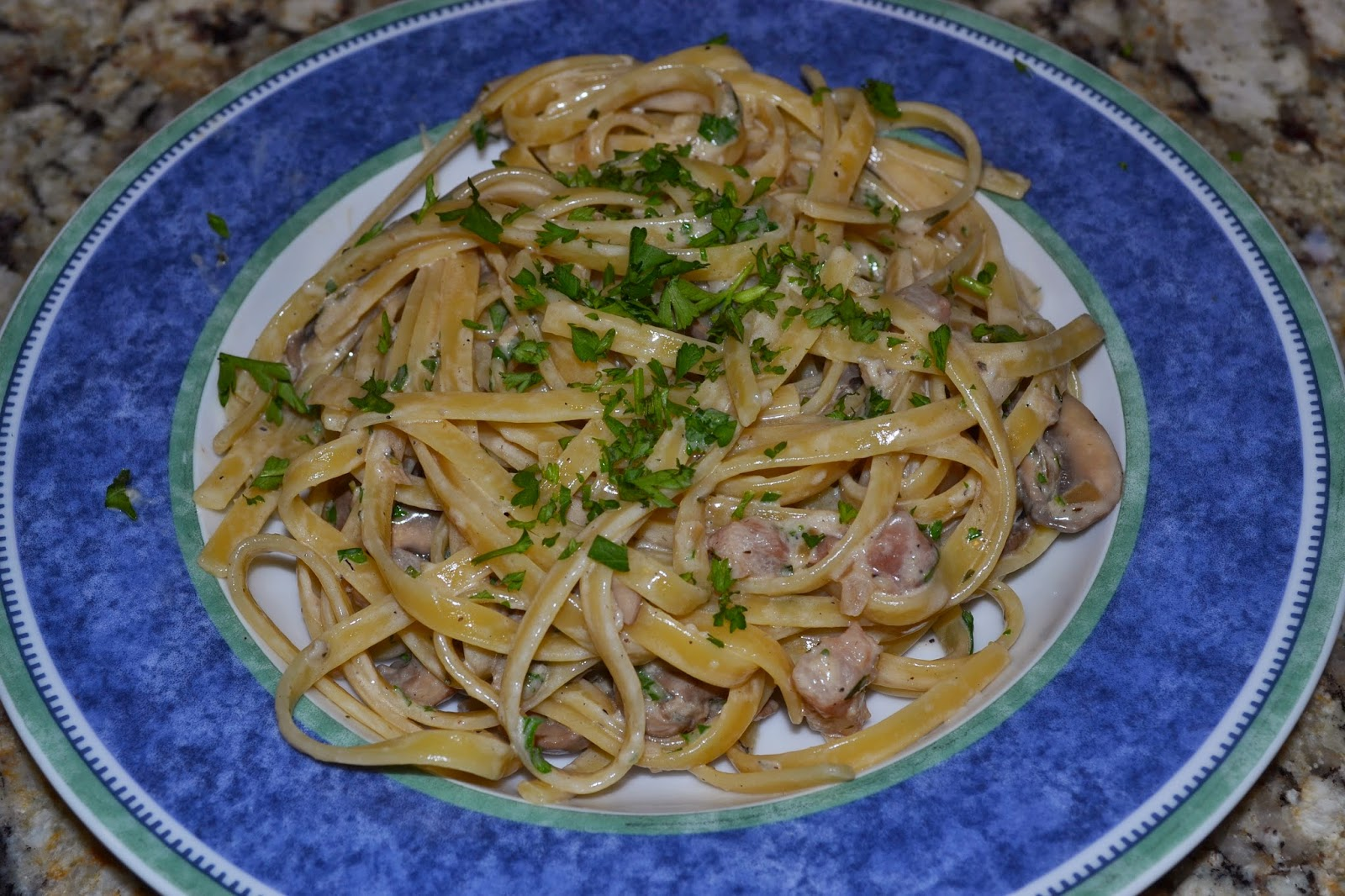 Al's Recipe Reviews: Creamy Mushroom Fettuccine