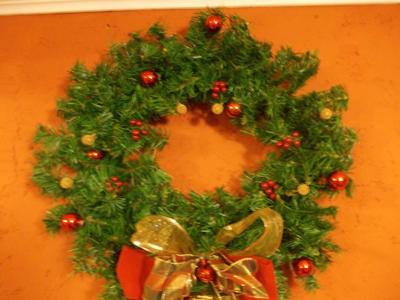 Adornos Y Regalos De Navidad Corona Con Campana Colgante