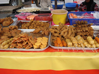 Snack fried, shrimp, nuggets, chicken fried,