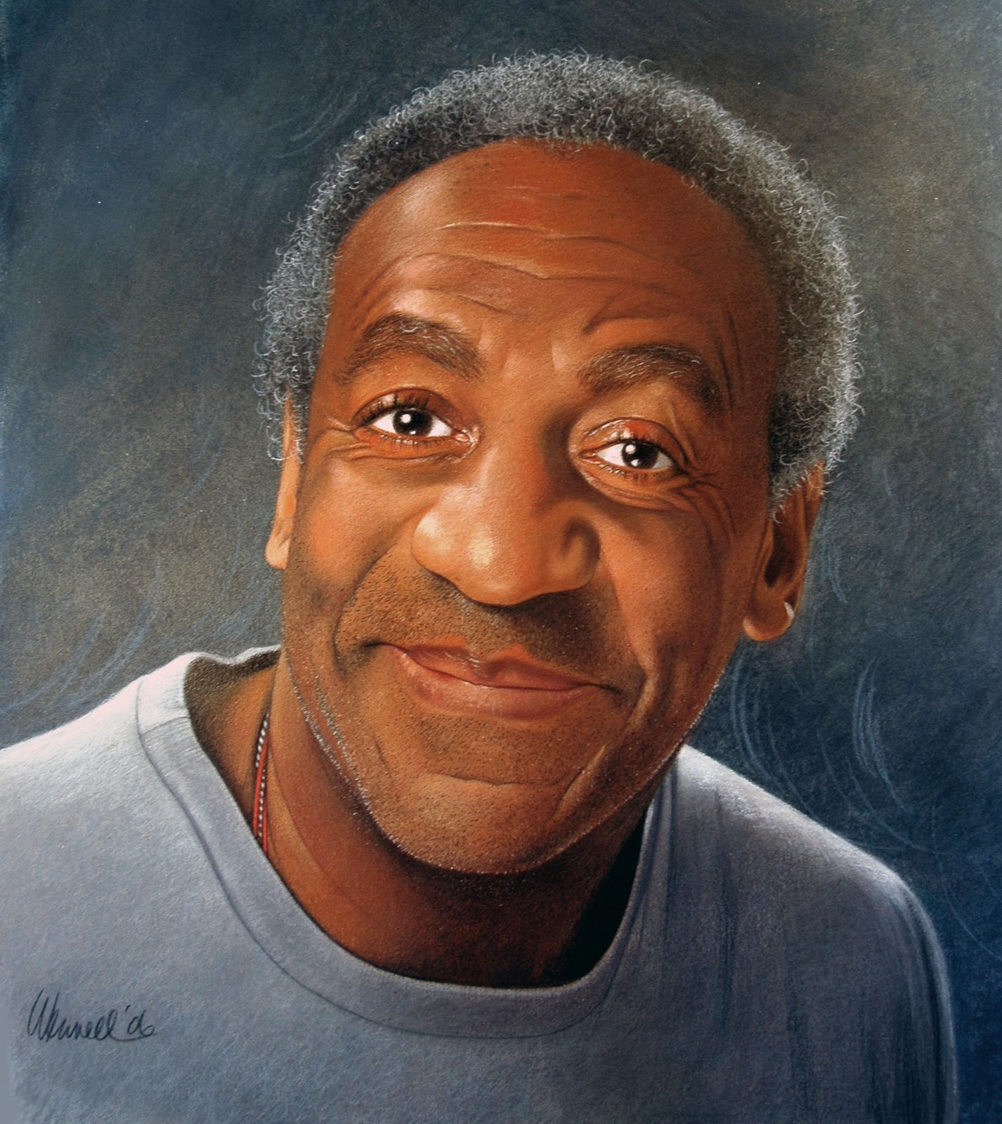 Bill Cosby Jello Portrait