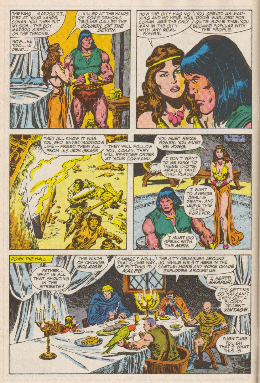 Conan the Barbarian (1970) Issue #190 #202 - English 7
