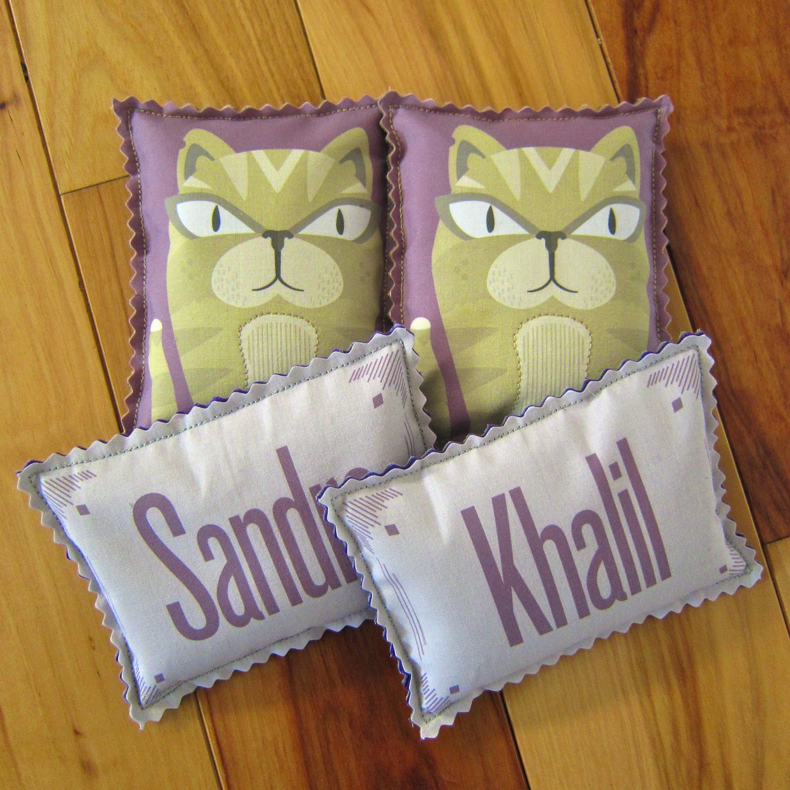 Personalized Thermies with Matching Cats