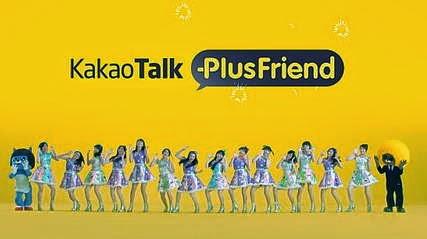 Foto JKT48 di Iklan Kakao Talk