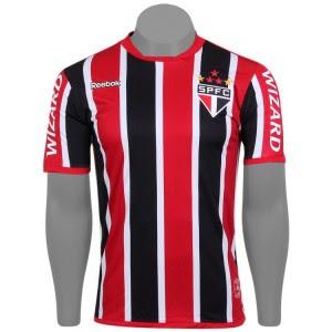 Nova Camisa oficial do São Paulo 2012 2013