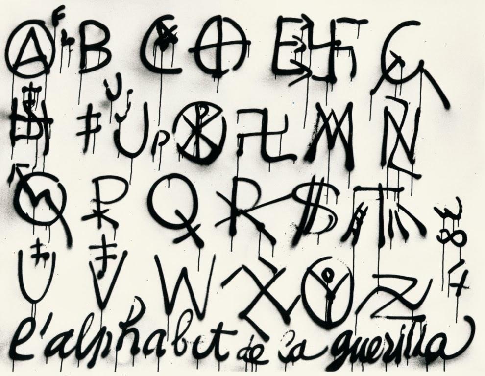 Alphabet Artistique les arts plastiques au lycée comte de foix: la typographie