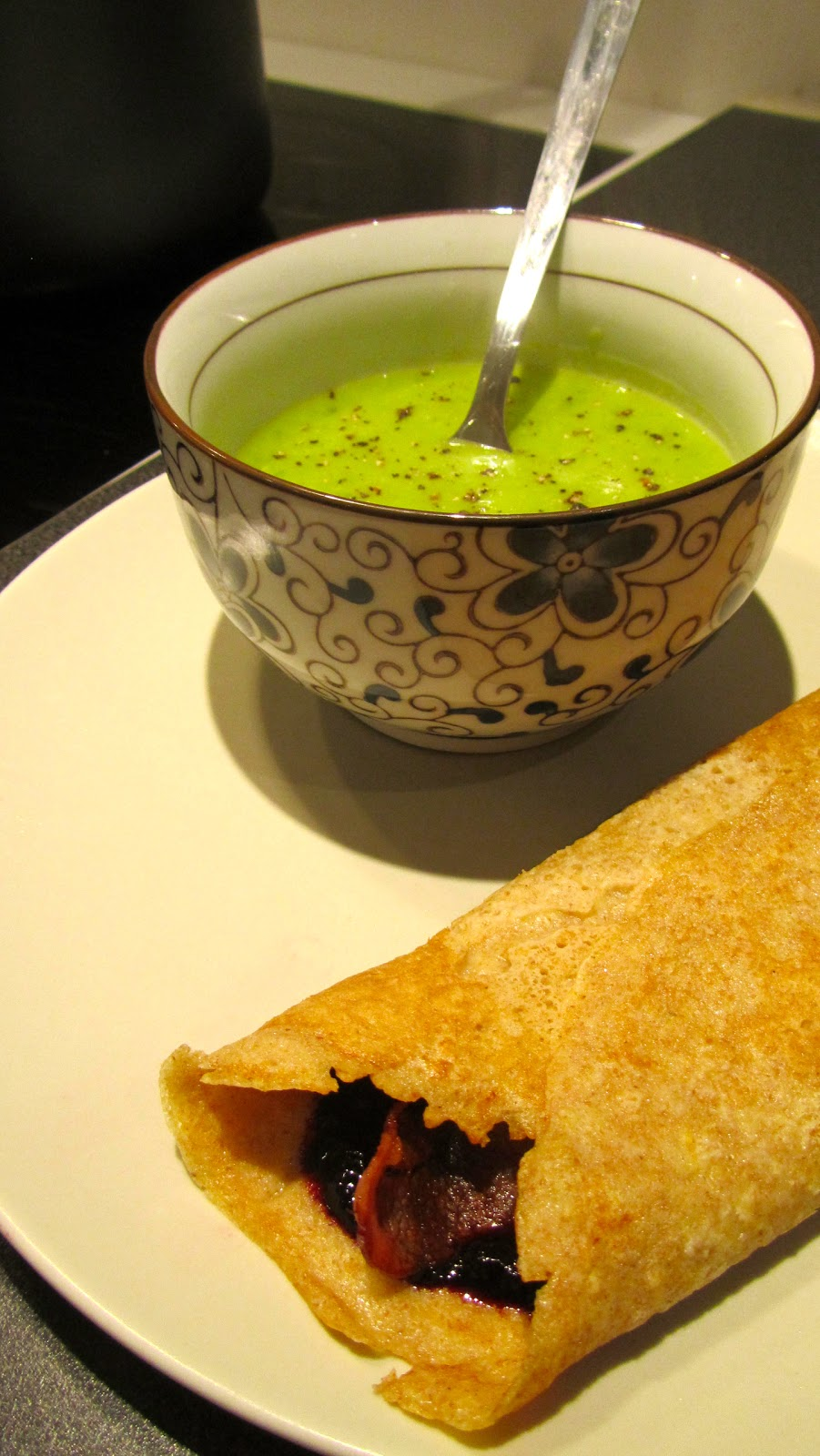 pannekaker og suppe