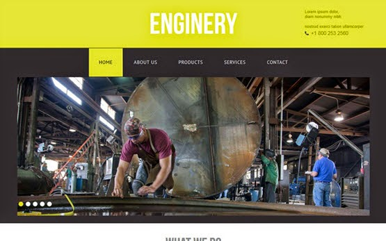 Enginery web template