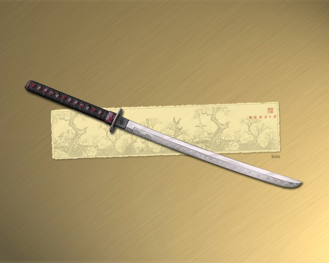 Awesome Hd Wallpaper Collection Ninja Sword Wallpaper By Katana