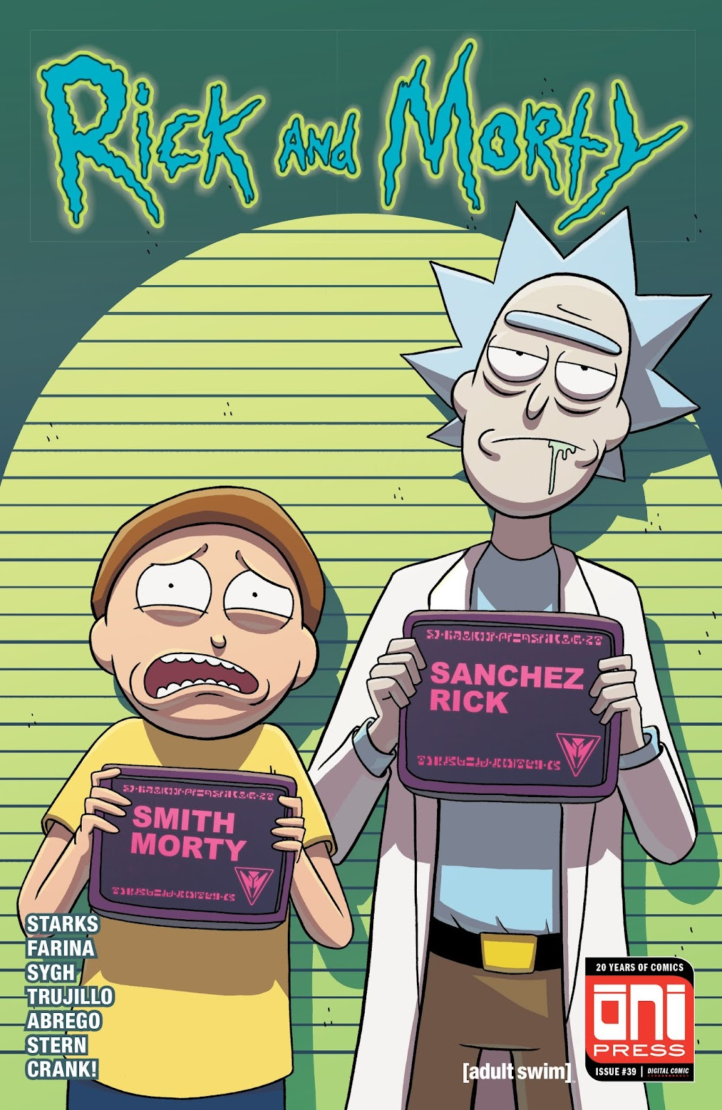 Rick and Morty issue 39 - Page 1