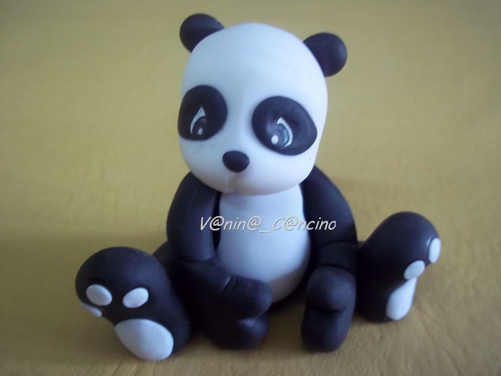 Añatuya Porcelana Fría: Oso panda