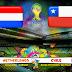 بث مباشر لمباراة هولندا و تشيلي في كاس العالم 2014/6/23