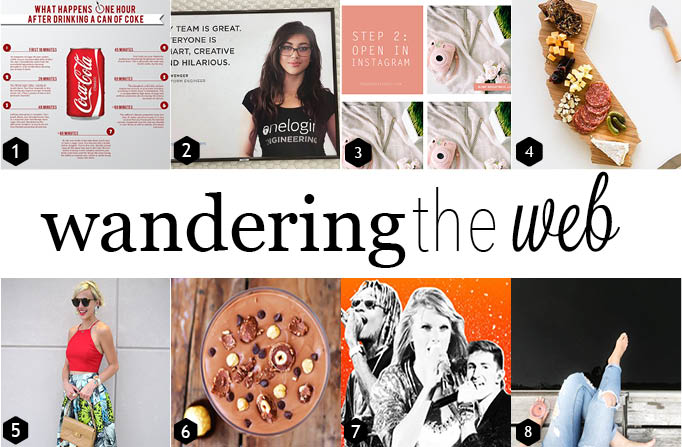 wandering the web featured links from the week of Aug. 7