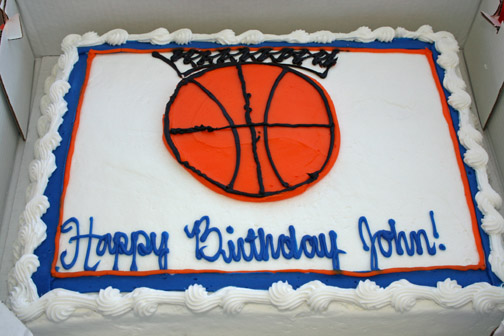 Easy Basketball Cake Decorating Ideas : I May Be Overthinking This: In Mothering, as With Cake ...