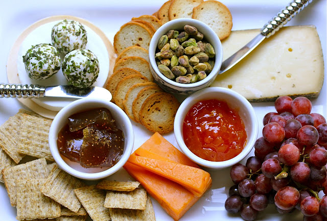 easy cheese plate entertaining