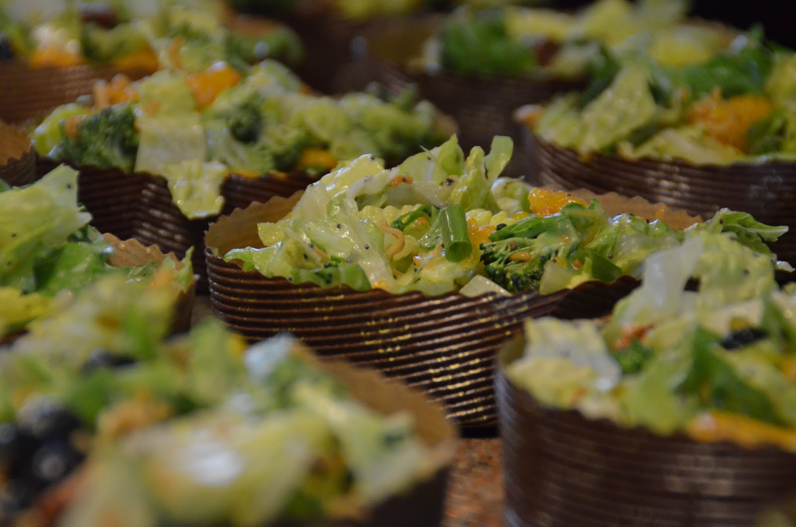 Crunchy Summer Salad with Orange Poppy Seed Dressing