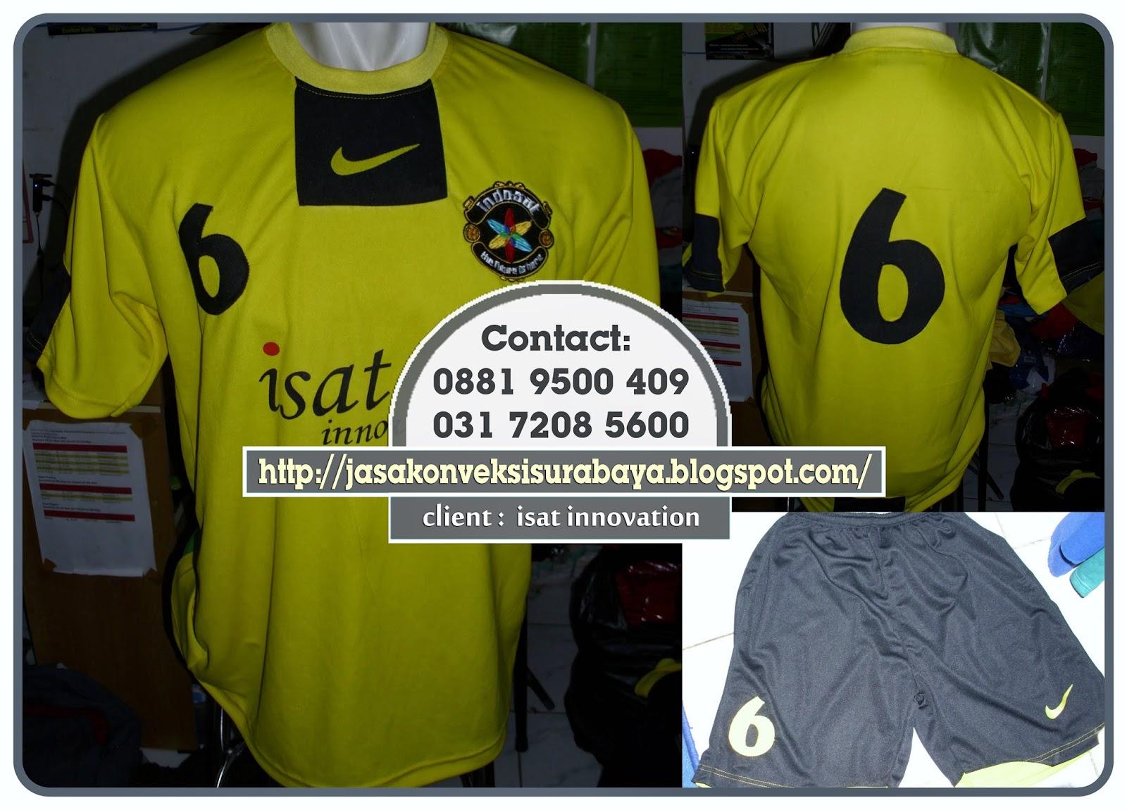 Bikin Baju Olahraga club, Bikin Baju Olahraga sablon, Bikin Baju Olahraga Surabaya,