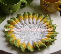 TUTORIAL O PAP SUNBURST DOILY
