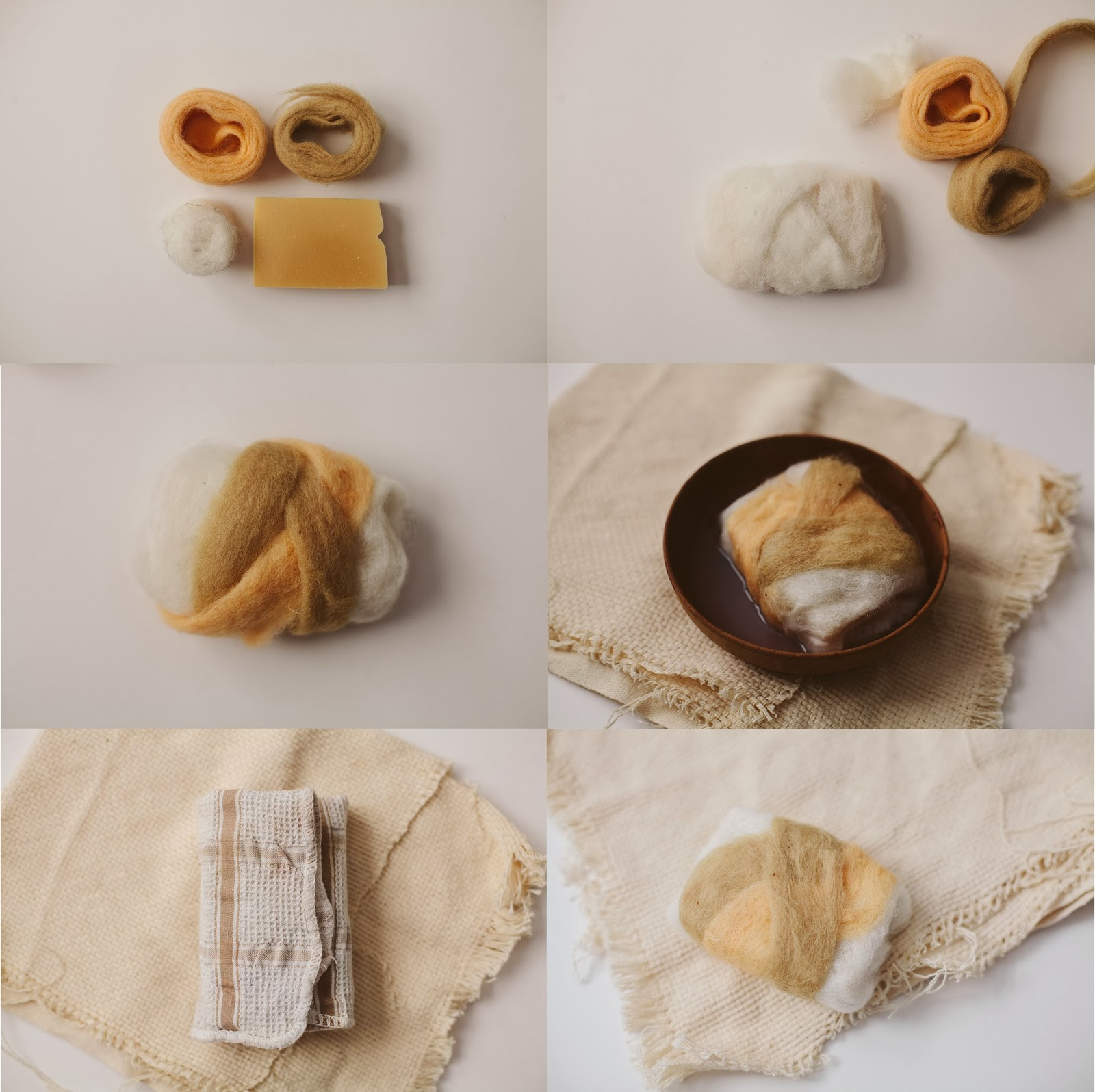 Wooled Soap Bar Tutorial | Clean Living