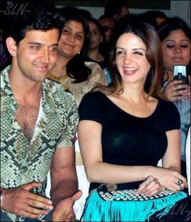Suzanne Hrithik Roshan Photos, Hot Couple Pics