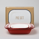 FALCON PIE SET - RED