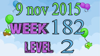 Angry Birds Friends Tournament level 2 Week 182