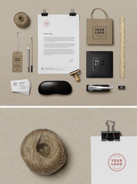 Les Ressources Web du Lundi by Iscomigoo Webdesign: Pack d'identité de marque #01