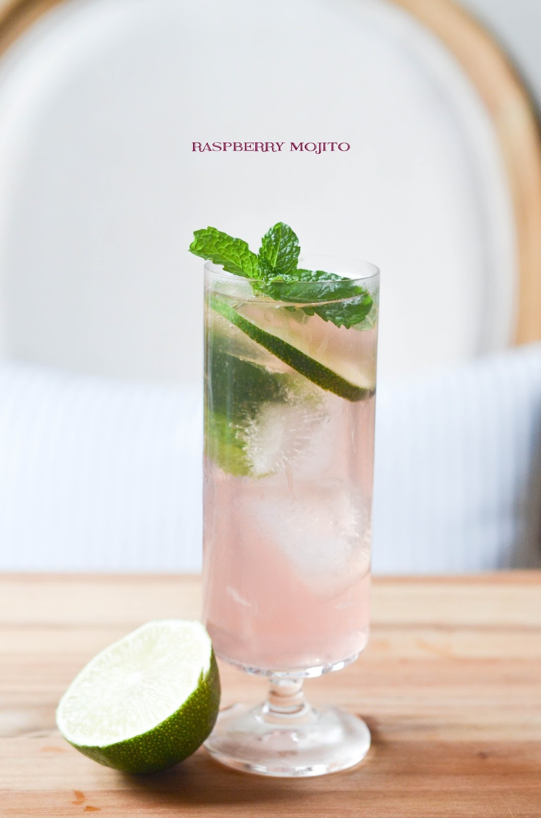 raspberry mojito | prosecco in the park