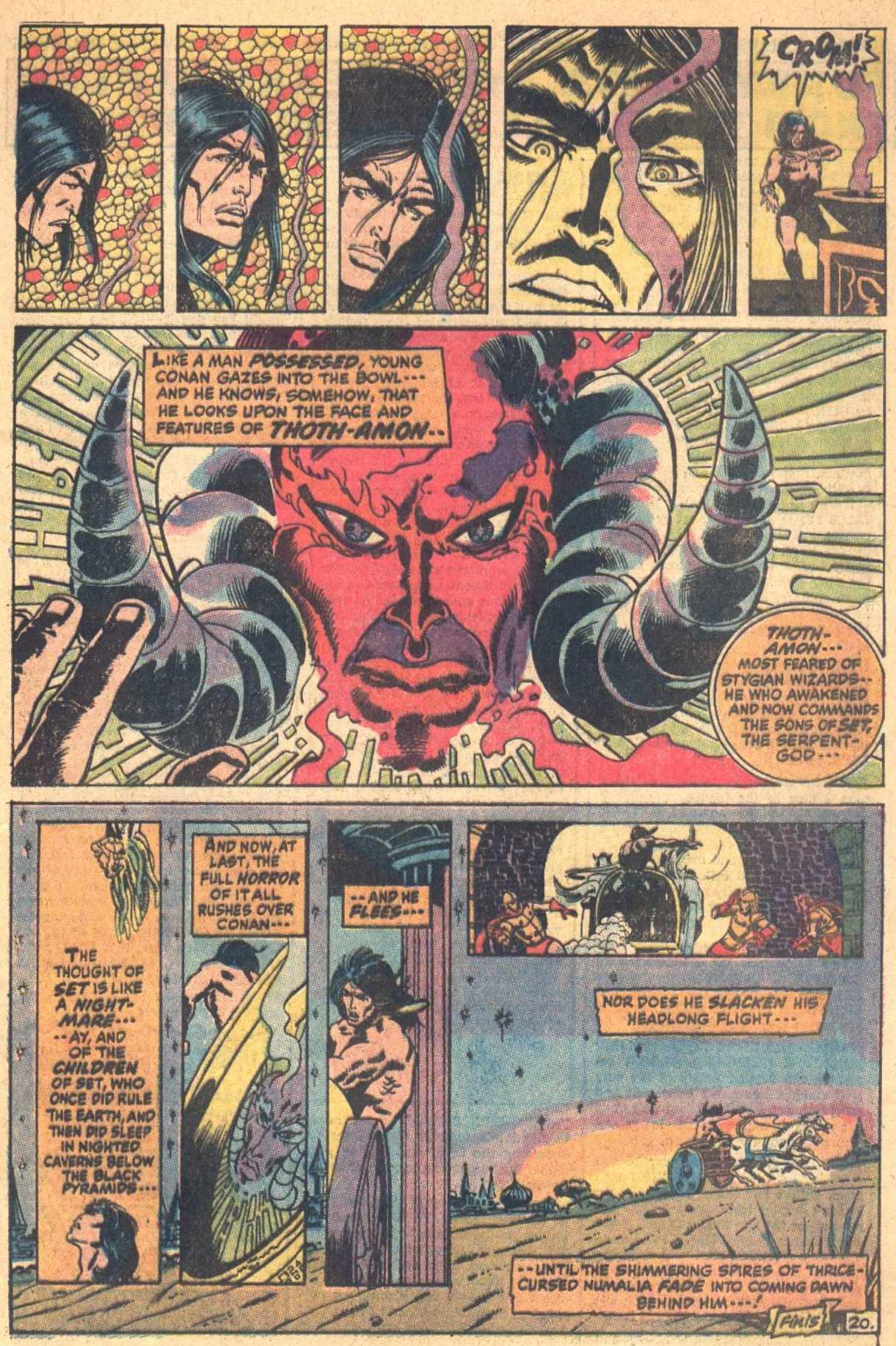 Conan the Barbarian (1970) Issue #7 #19 - English 21