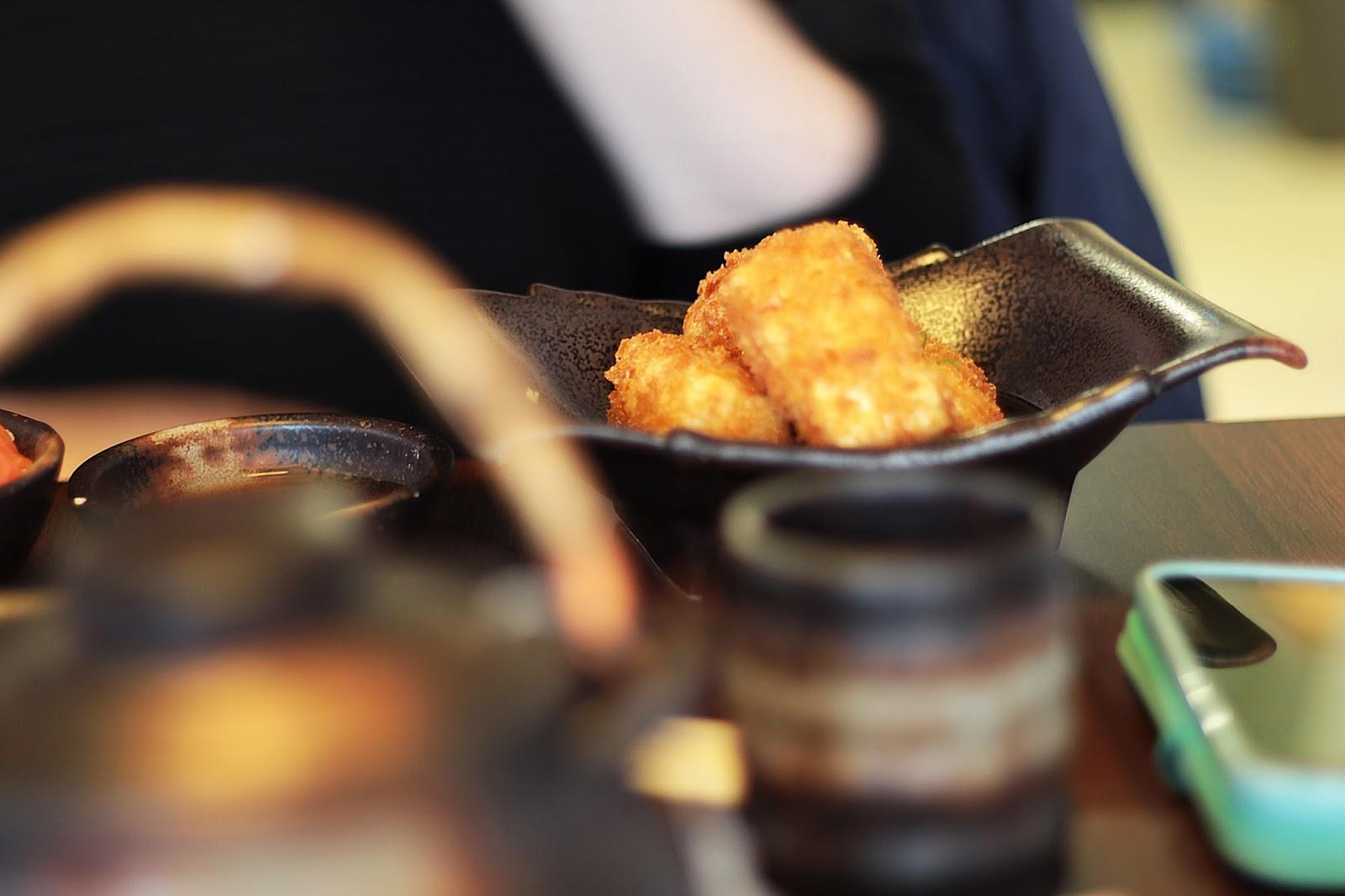 sushi express sheffield review fried tofu