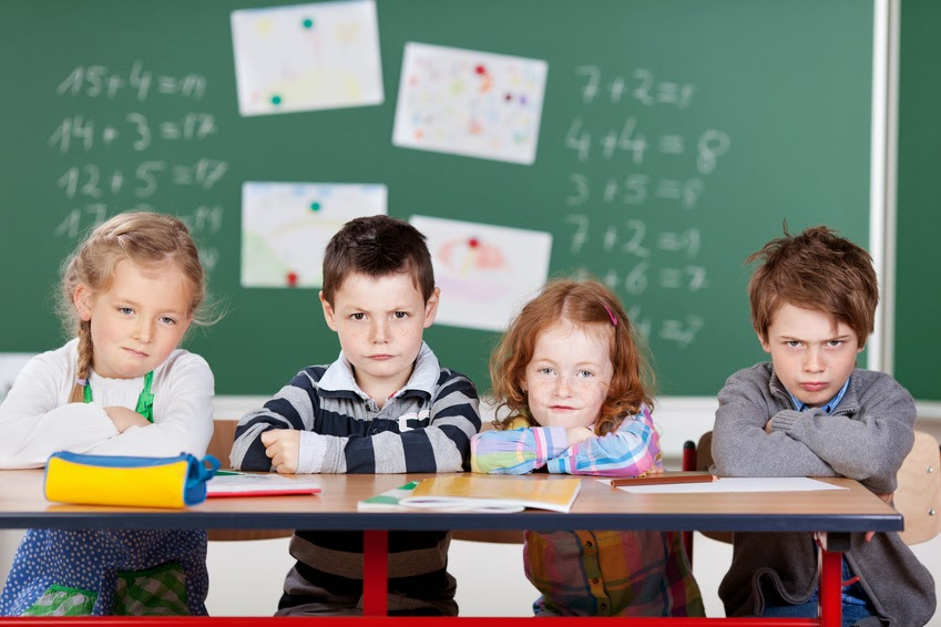 Elementary Student protest annual immigration of unskilled first graders