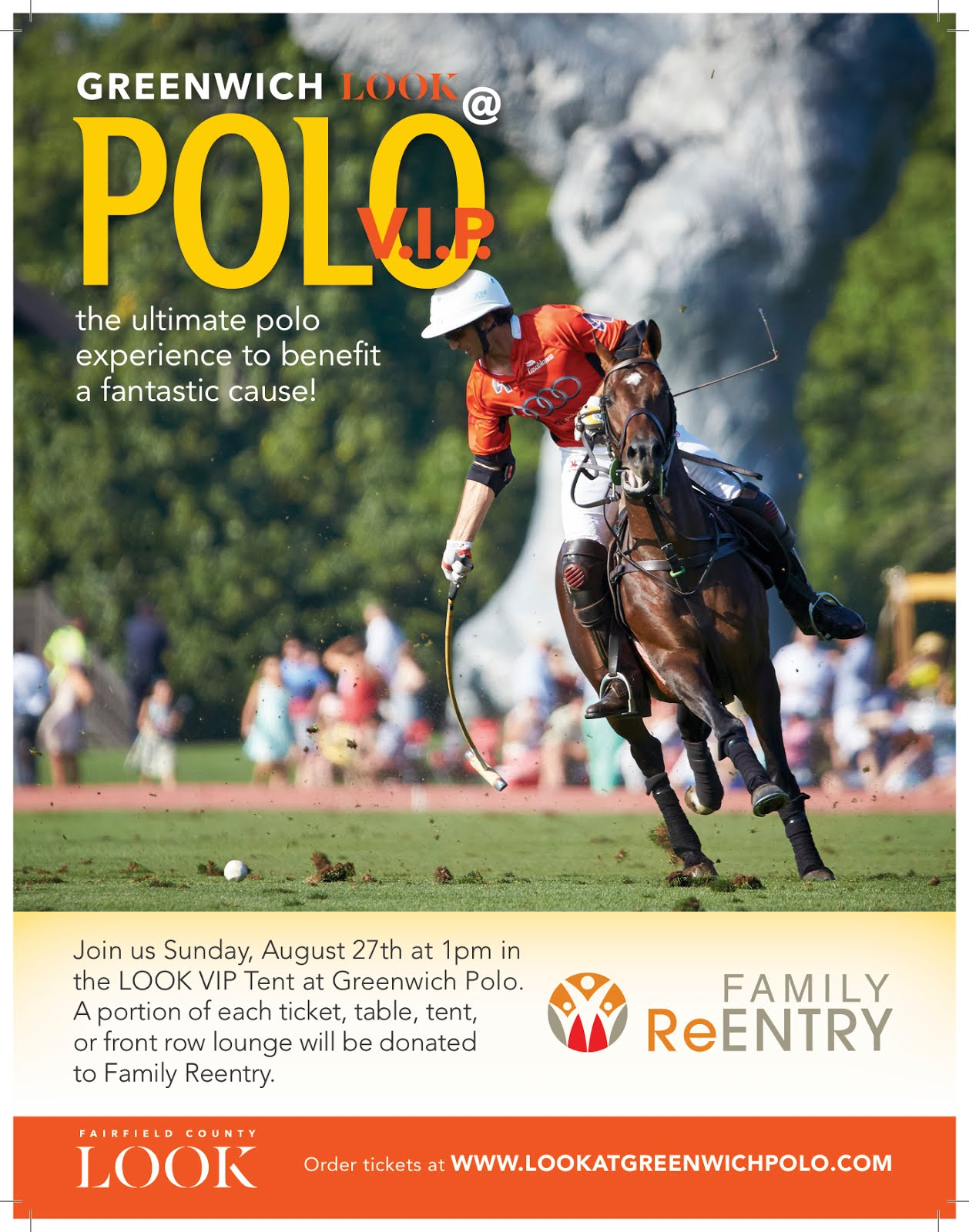 Event: Family ReEntry/Fairfield County LOOK Afternoon at Greenwich Polo, Sun., Aug. 27, 2017