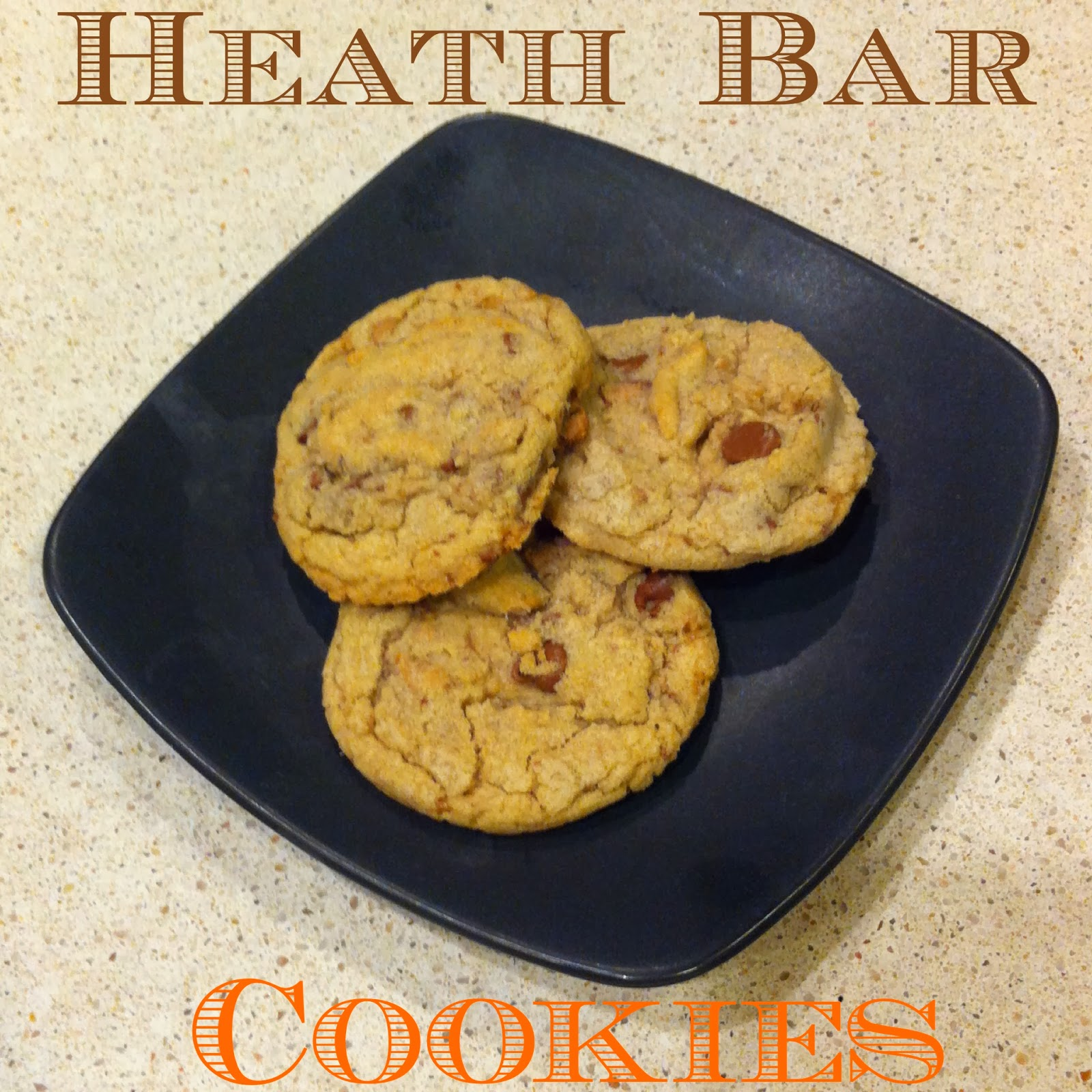 Heath Bar Cookies that are soft inside and crunchy on the outside.  Absolutely perfect.  Alohamora http://alohamoraopenabook.blogspot.com/